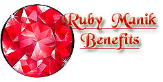 Ruby Gemstone Benefits for Planet Sun for Confinance and Courage